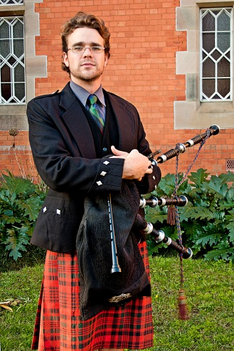 Bagpiper - Lonely Busker 2
