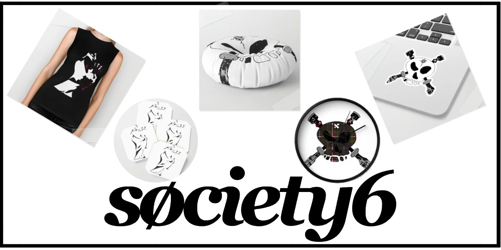 Lonely Busker Designs on Society6