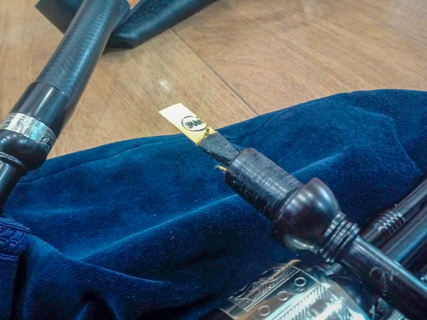 Fred Morrison Smallpipes Chanter Reed