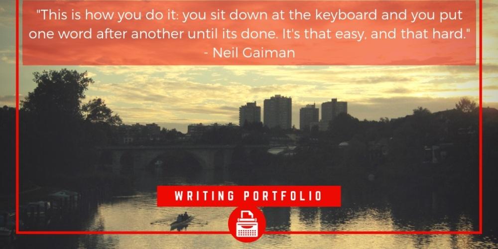 Freelance writing portfolio, the lonely busker